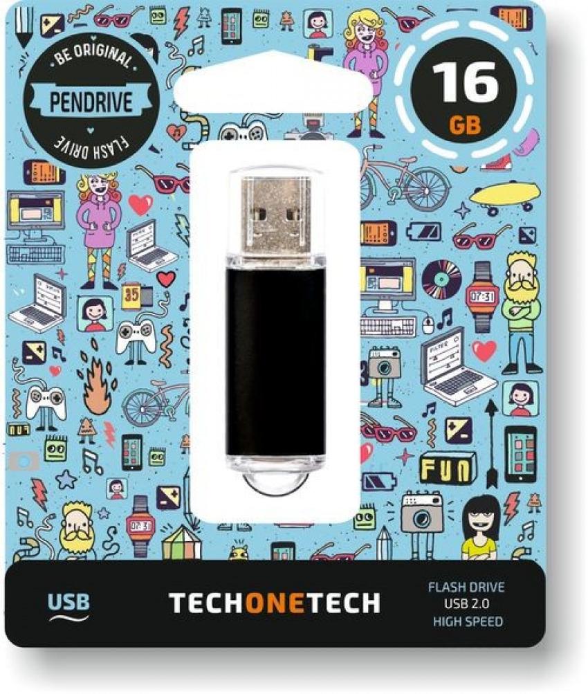 PENDRIVE 16GB USB 2.0 NEGRO 8436546592754