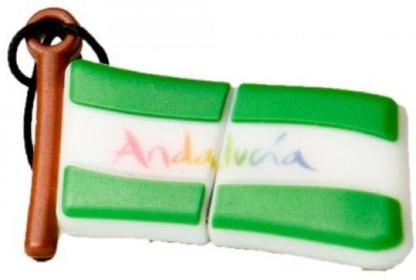 MEMORIA USB PENDRIVE BANDERA ANDALUCIA 32GB 8436546592907