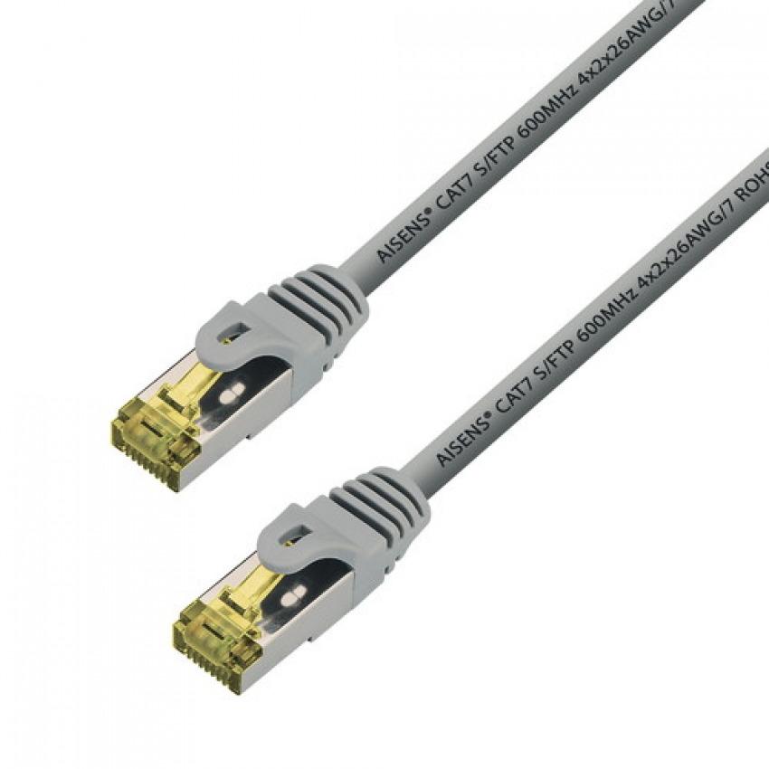CABLE DE RED RJ45 2M S/FTP AISENS A146-0335 CAT. 7 GRIS 8436574703887