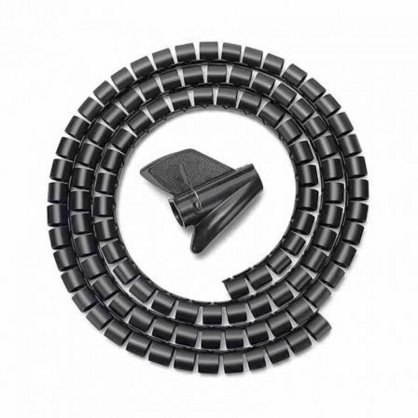 ORGANIZADOR DE CABLES EN ESPIRAL 1M AISENS A151-0406 8436574704419