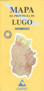 Mapa provincia Lugo 8482890002821