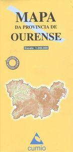 Mapa provincia Ourense 8482890002838