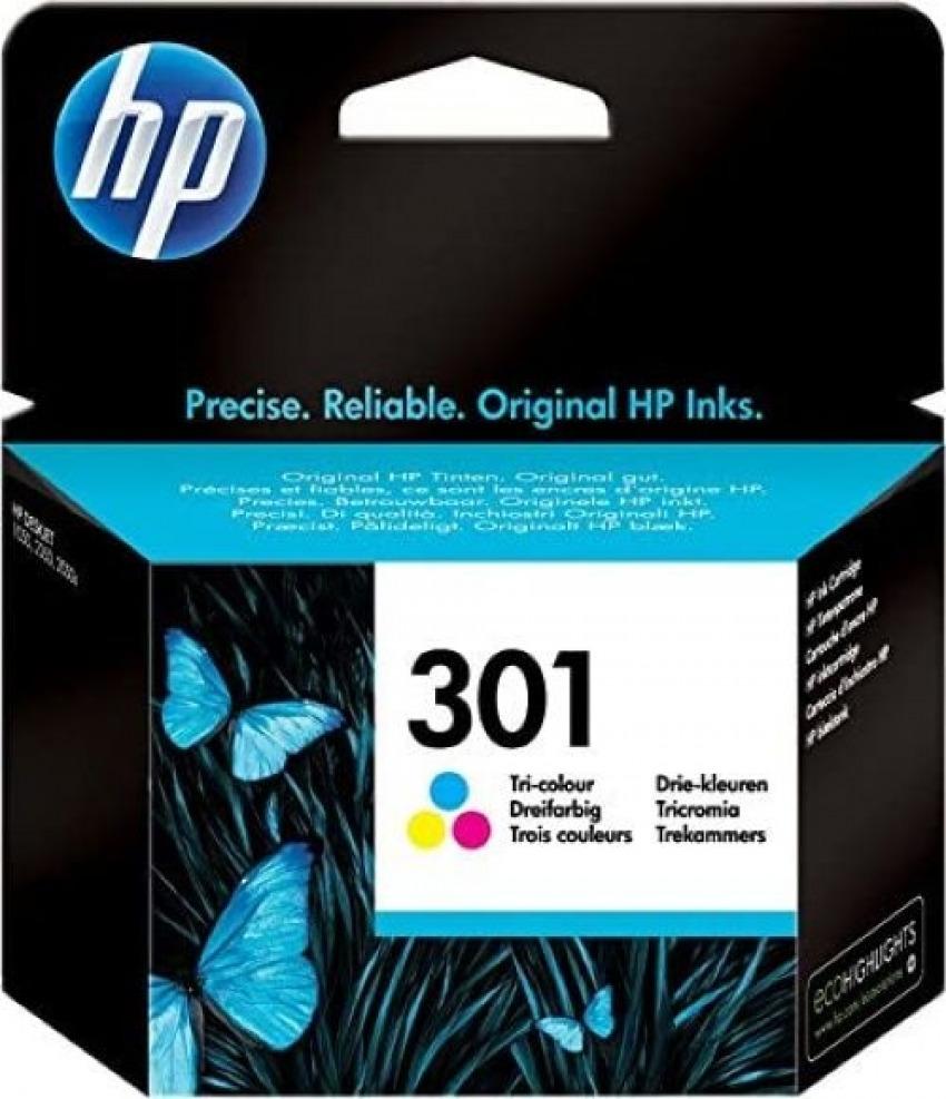 CARTUCHO TINTA ORIGINAL HP 301 TRICOLOR CH562EE 8849628945070