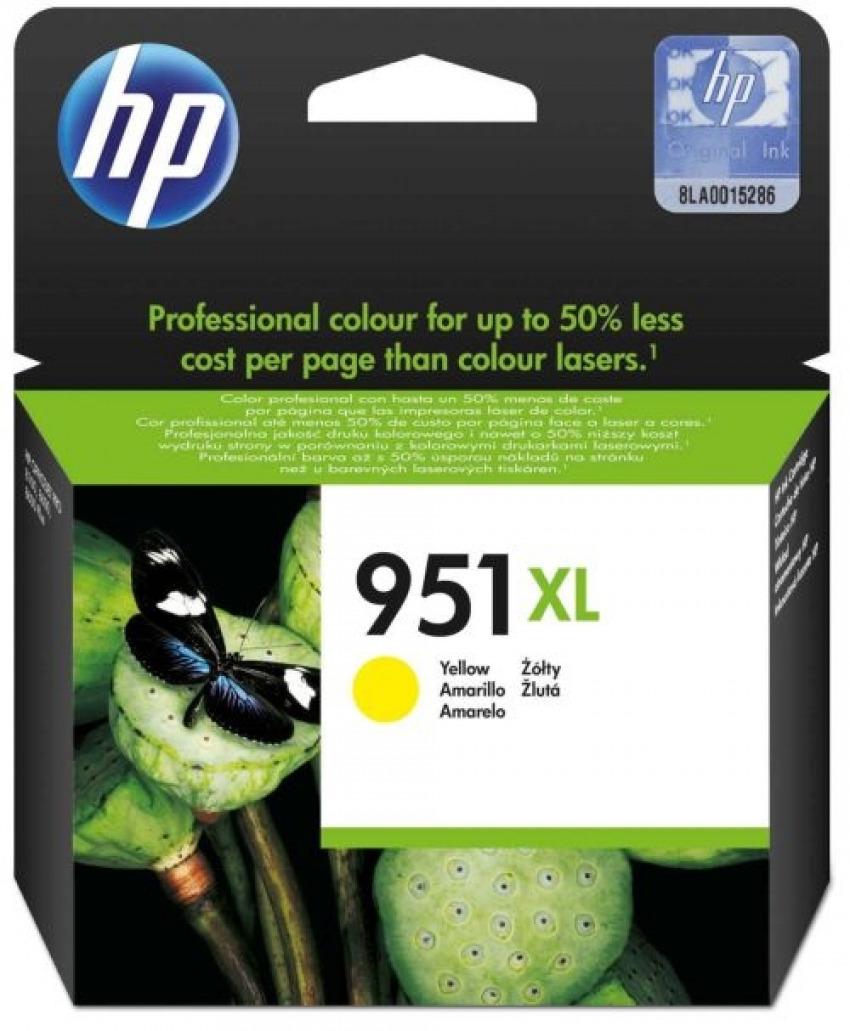 CARTUCHO TINTA ORIGINAL HP 951XL AMARILLO CN048AE 8861117489902