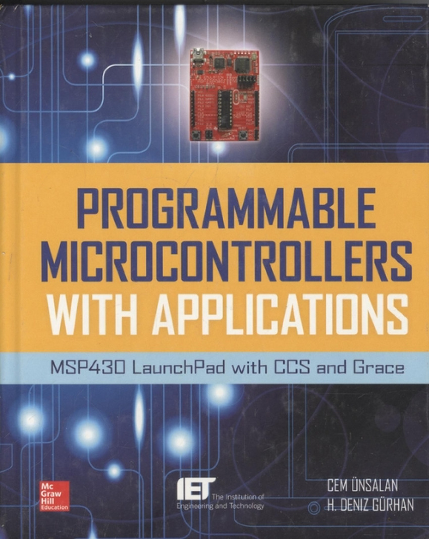 Programmable microcontrollers with applications:msp430 9780071830034