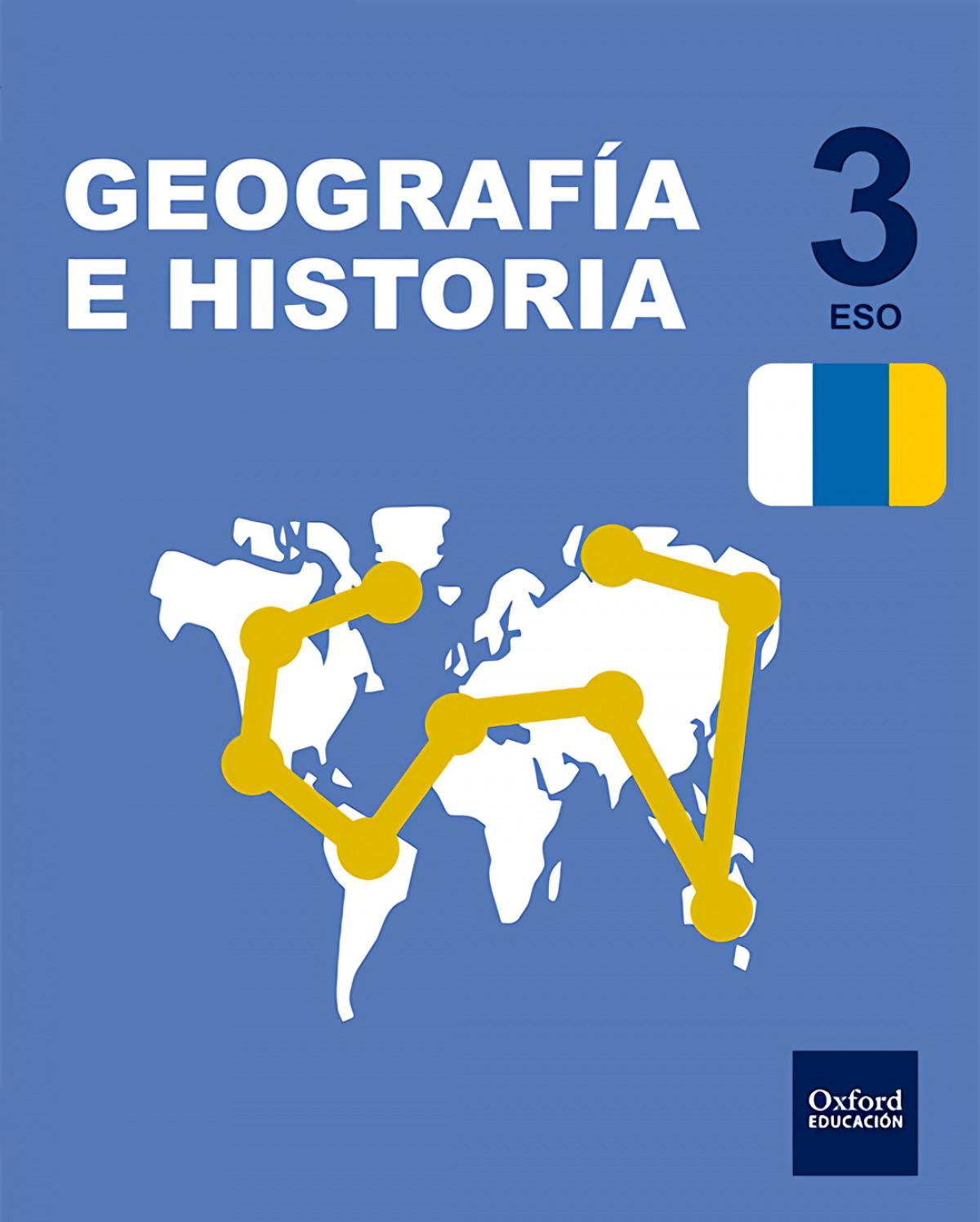 Inicia Dual Geograf¡a e Historia 3.o. ESO. Libro del Alumno. 9780190503284