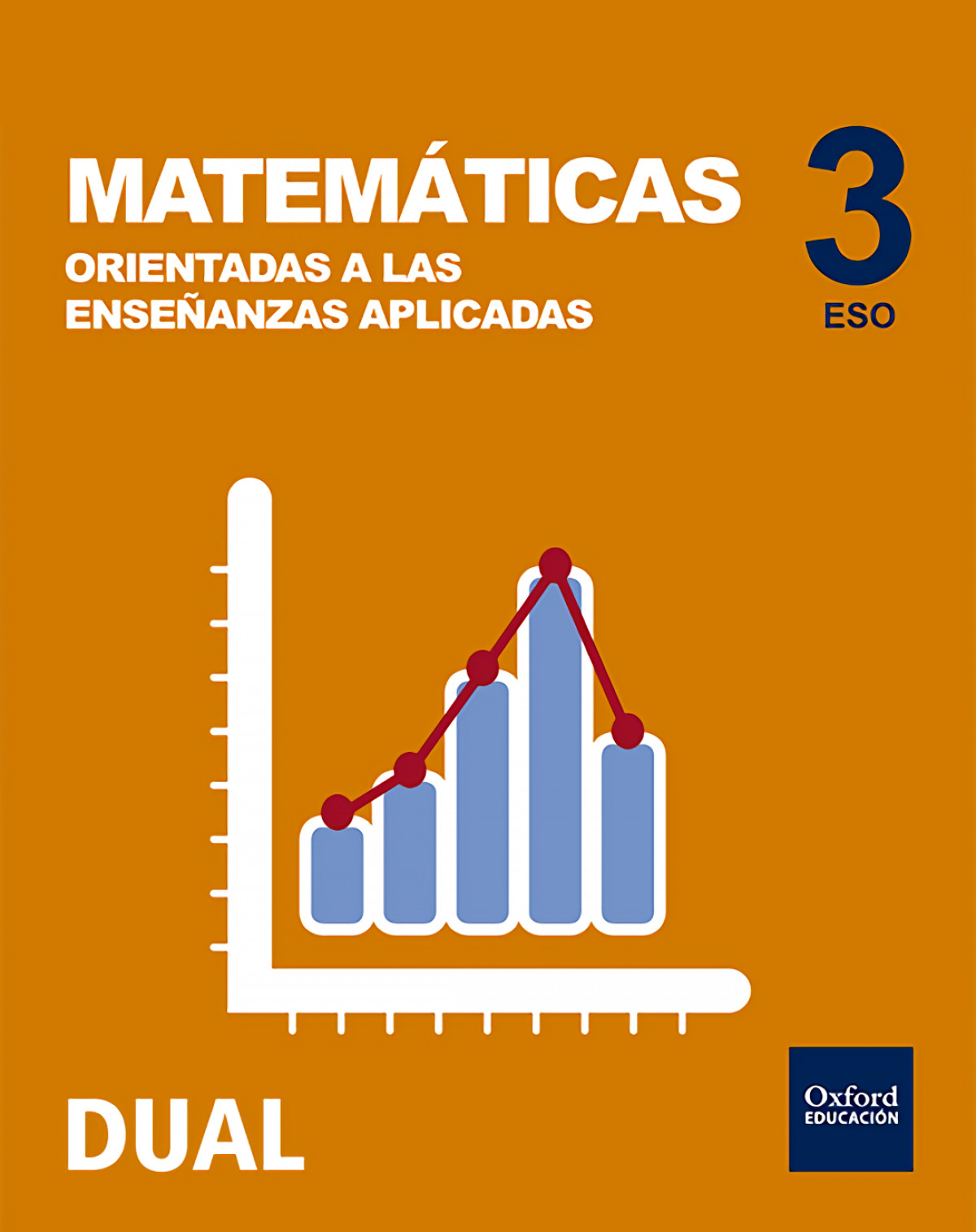 Matemáticas aplicadas 3o.eso. Inicia. Dual. Sólo libro 9780190509033