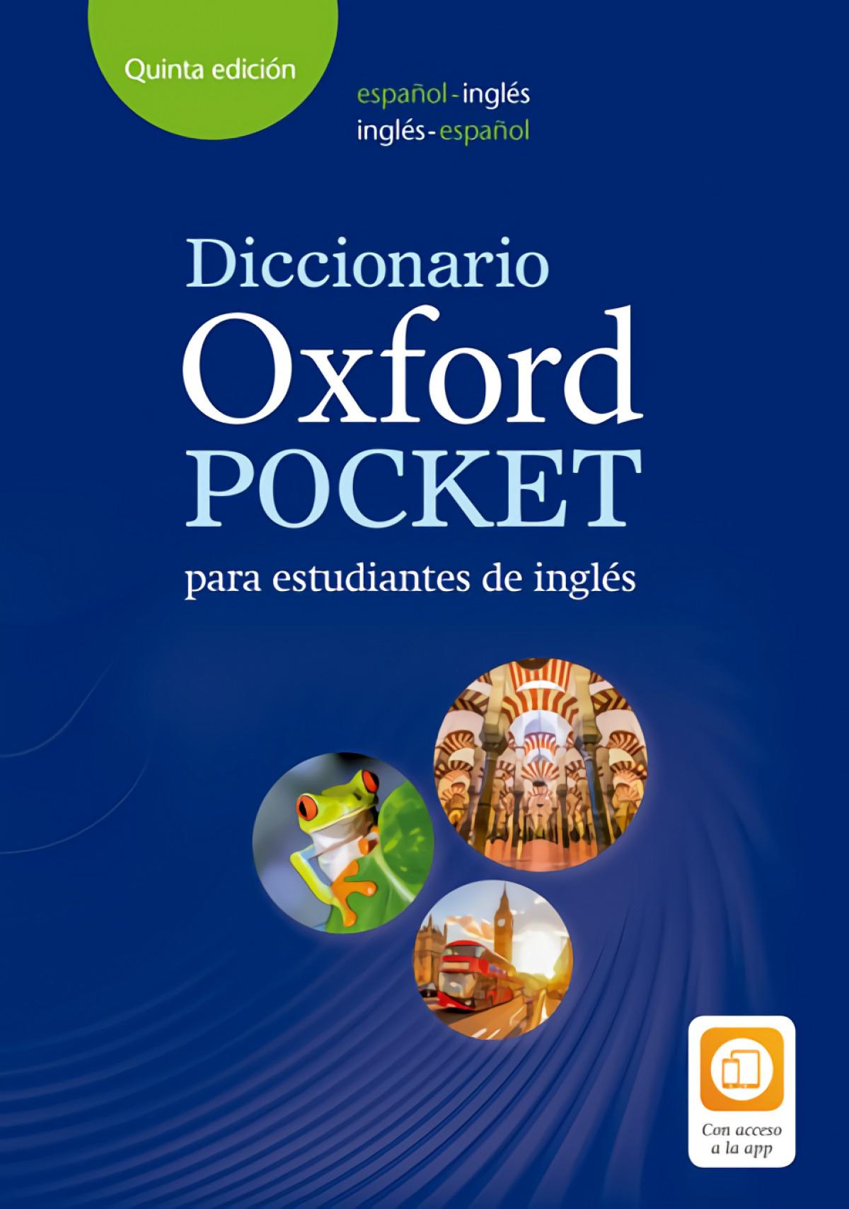 PACK 5 DICTIONARY OXFORD POCKET 5a.EDICION 5 UNID. 9780190523046