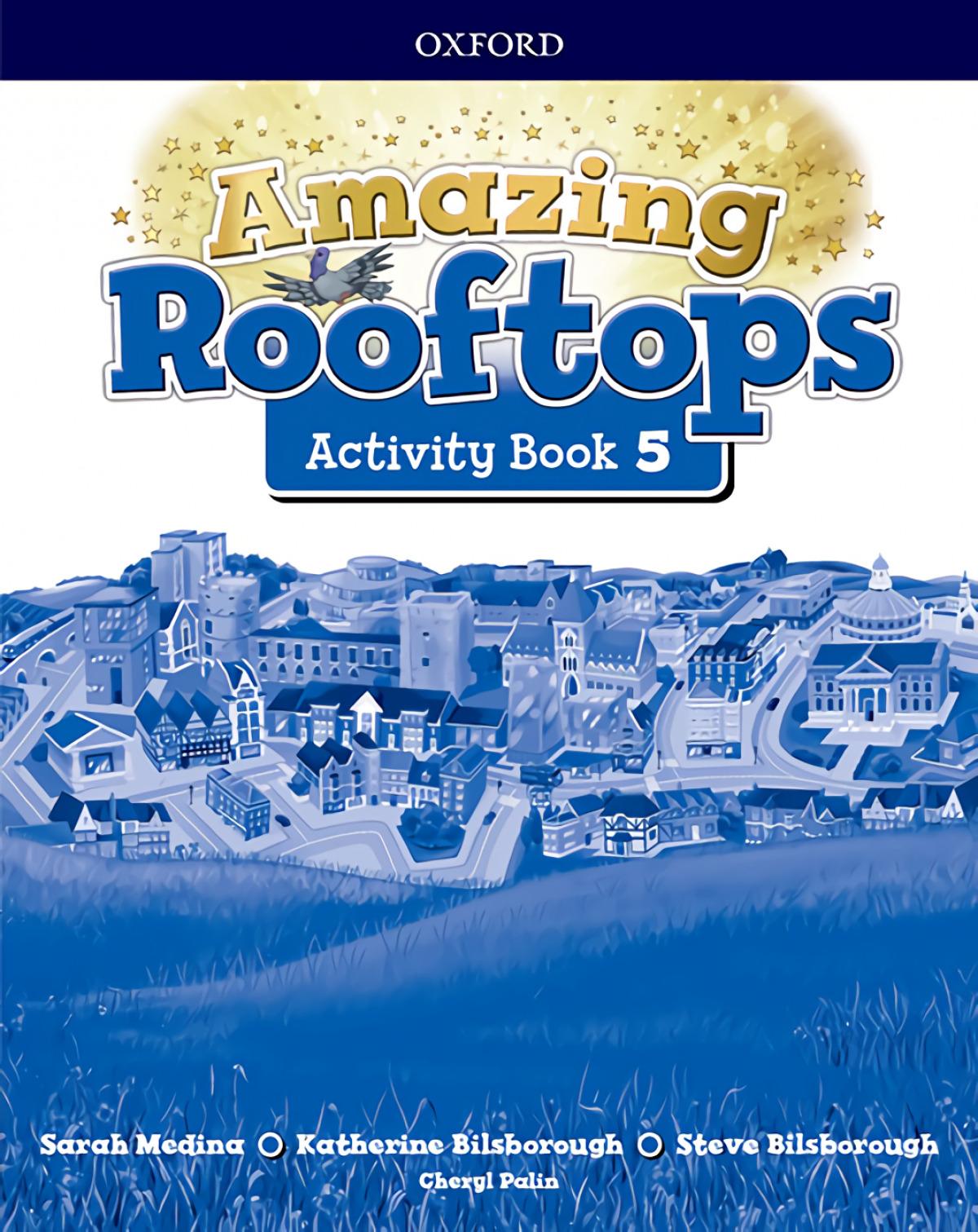 AMAZING ROOFTOPS 5 PRIMARY ACTIVITY BOOK 9780194168151