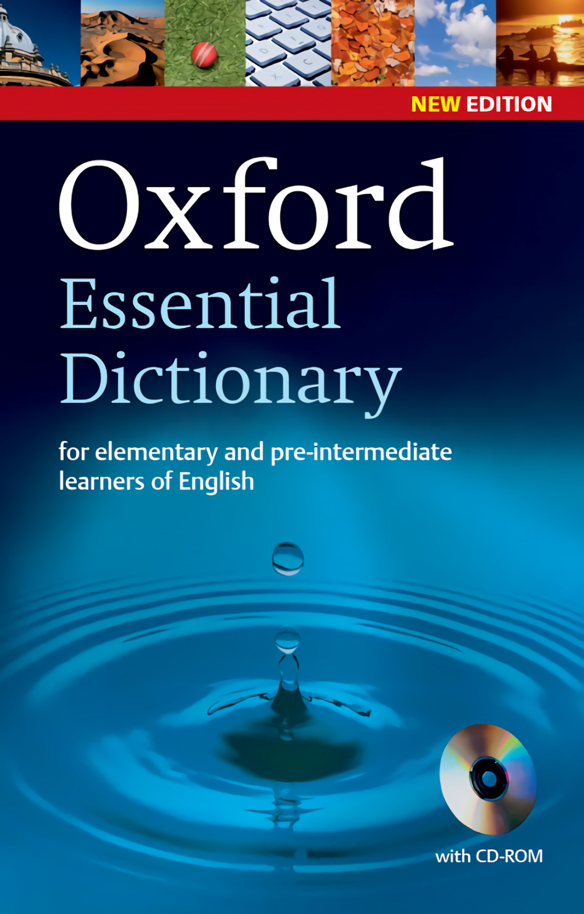 Oxford Essential Dictionary 2nd Edition Dictionary and CD-RO 9780194334037