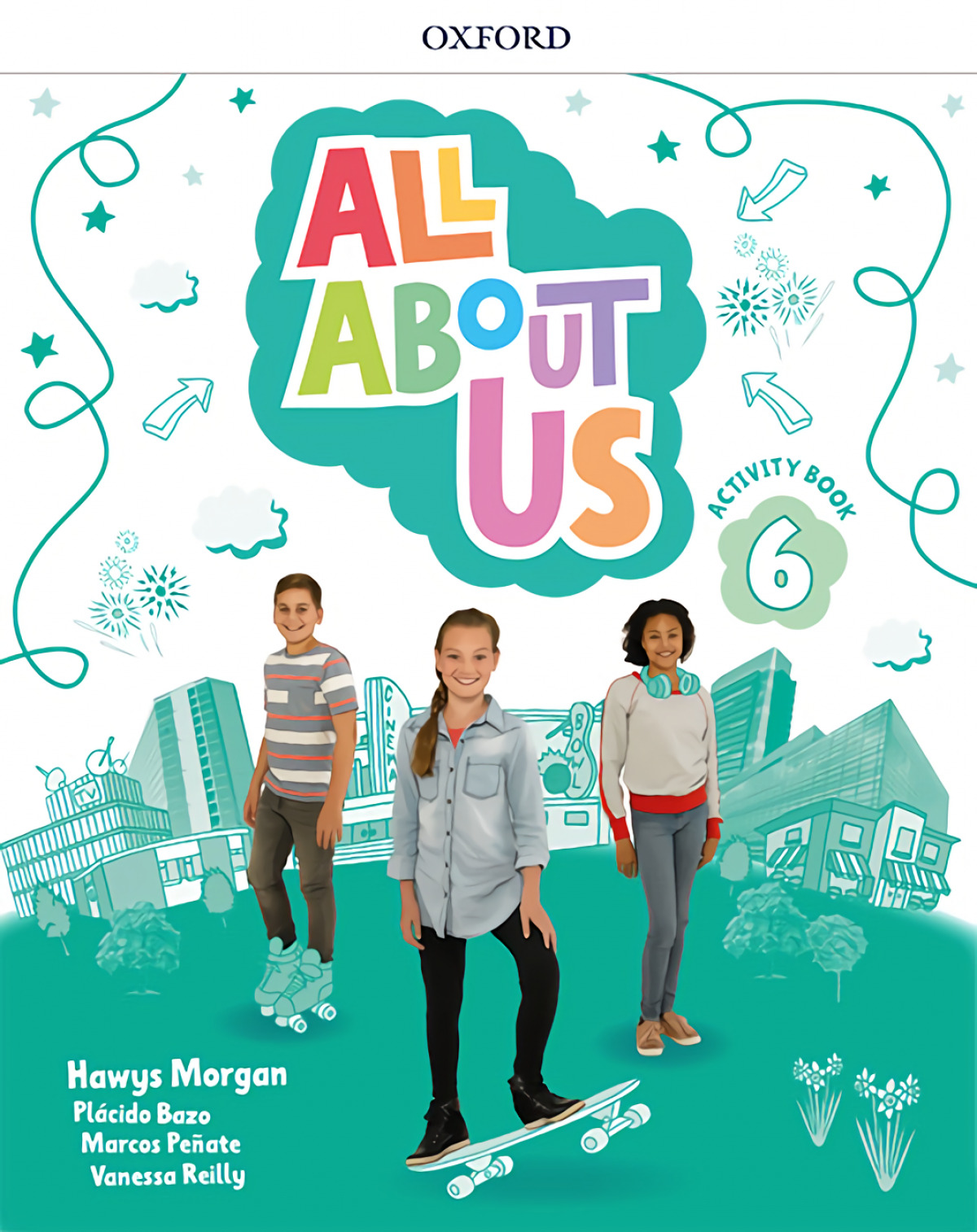 ALL ABOUT US 6 ACTIVITY +CD 9780194562270