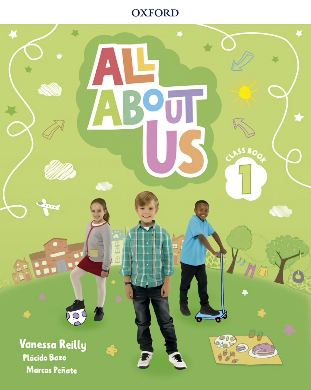 ALL ABOUT US 1 CLASSBOOK 9780194562348