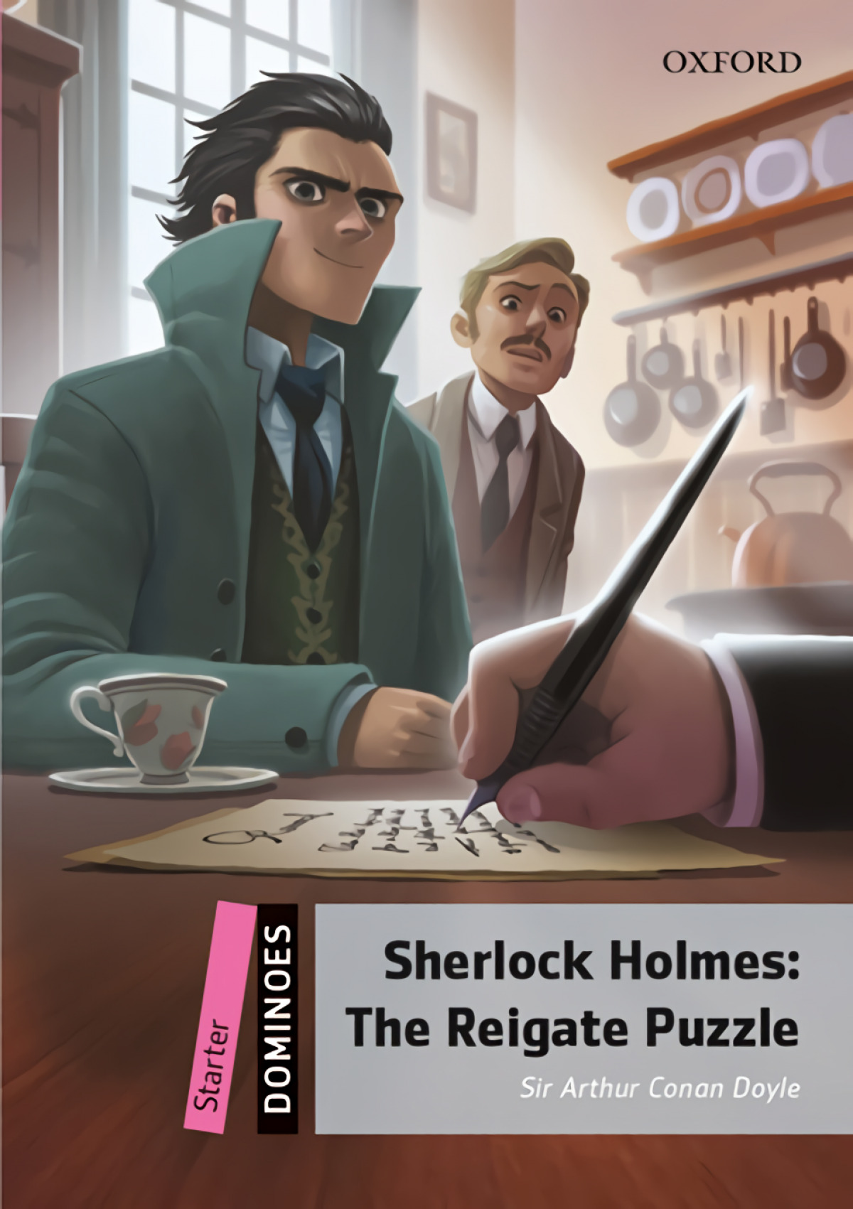 SHERLOCK HOLMES:THE REIGATE PUZZLE 9780194607445