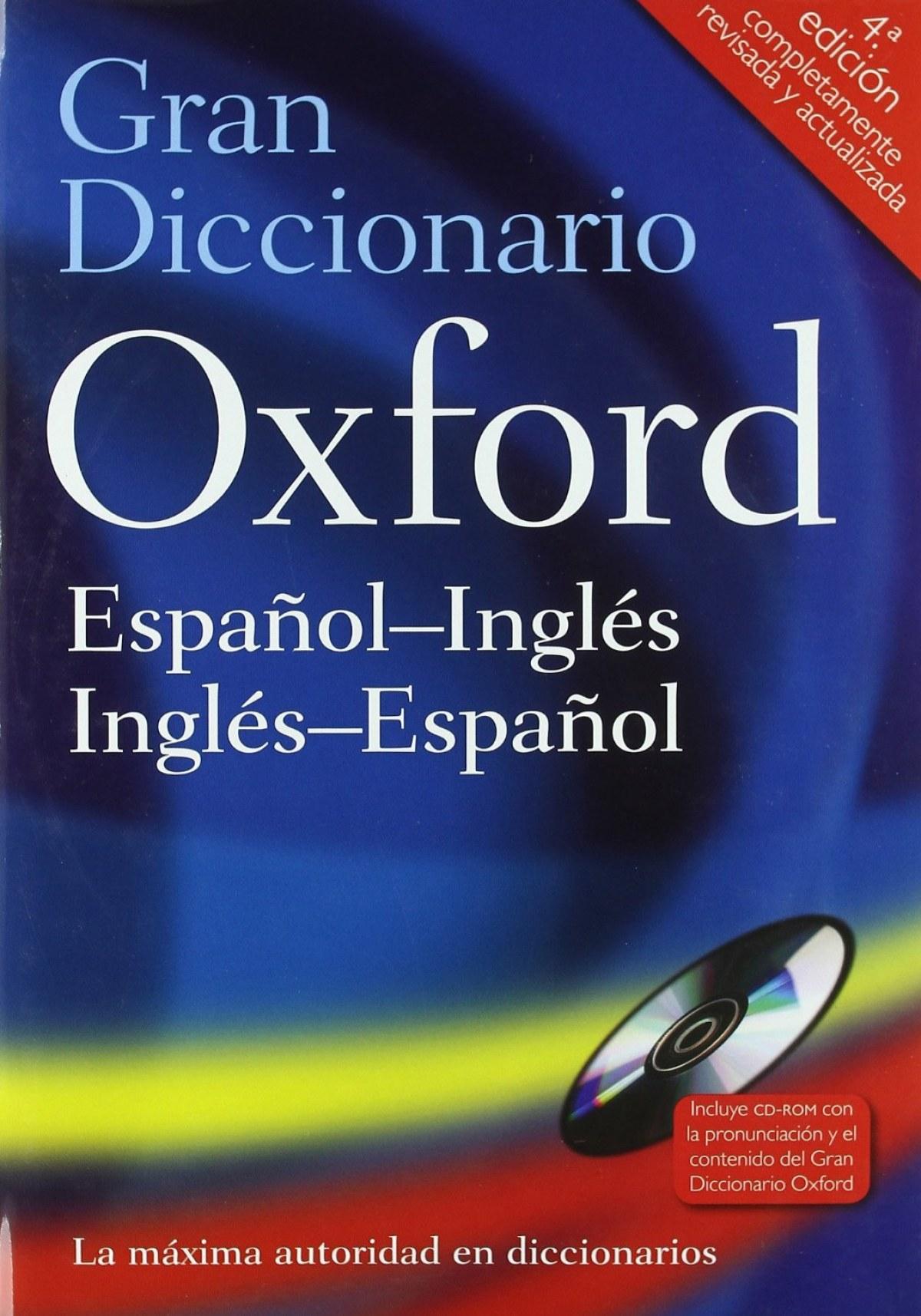 Gran Diccionario Oxford Español-Inglés/Inglés-Español 9780199547357
