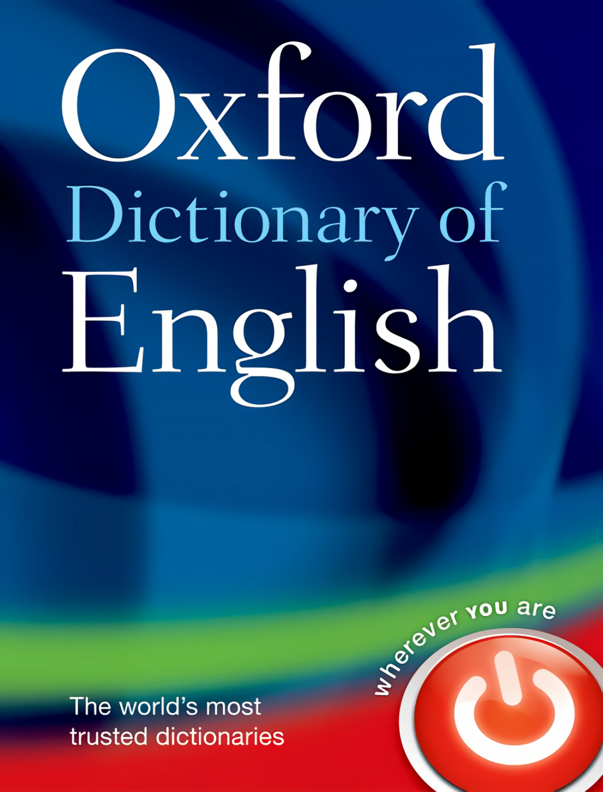 Oxford Dictionary of English 9780199571123