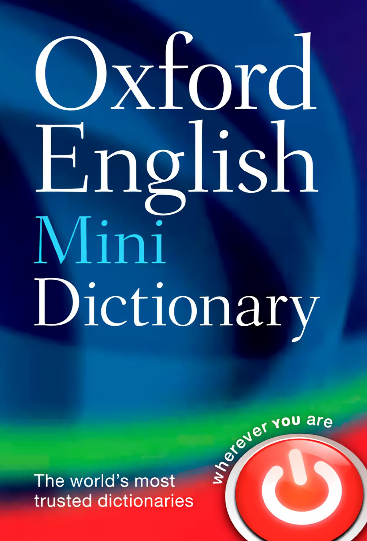 Oxford English Minidictionary: 8th Edition 9780199640966