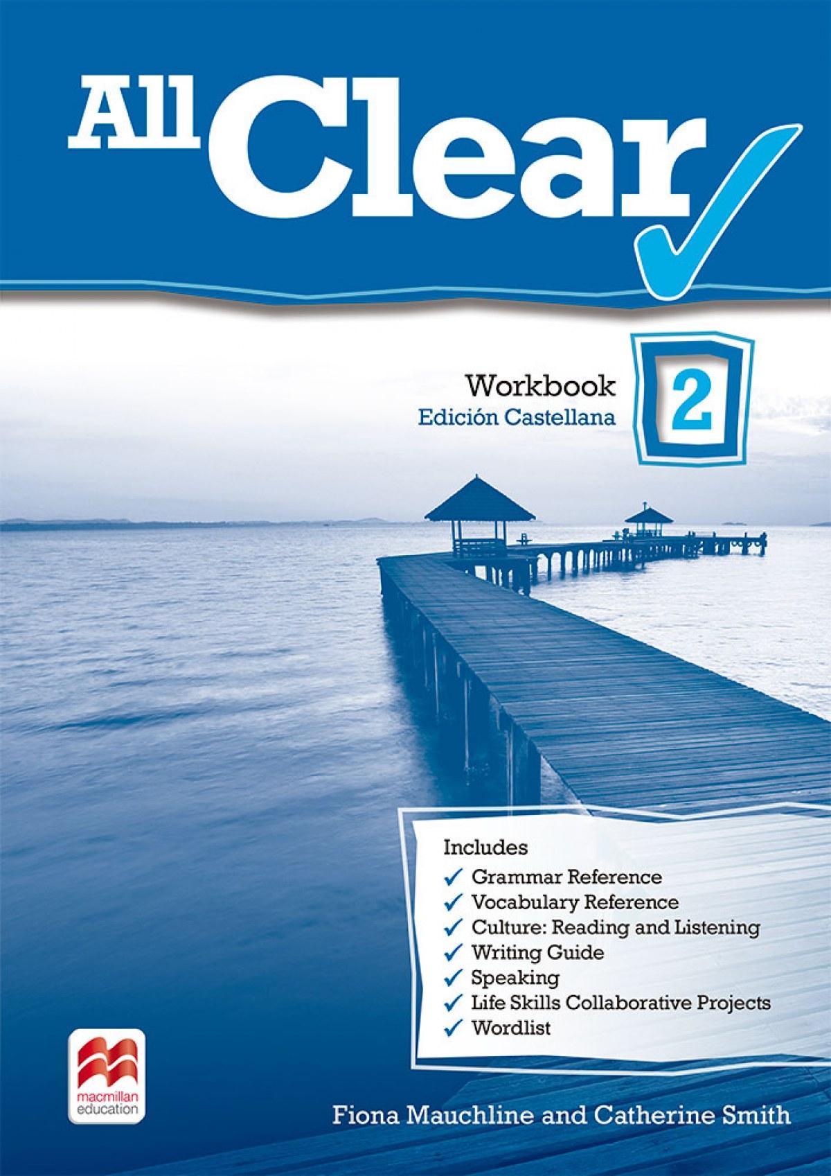 All clear 2. Workbook. Spanish edition. 9780230467088