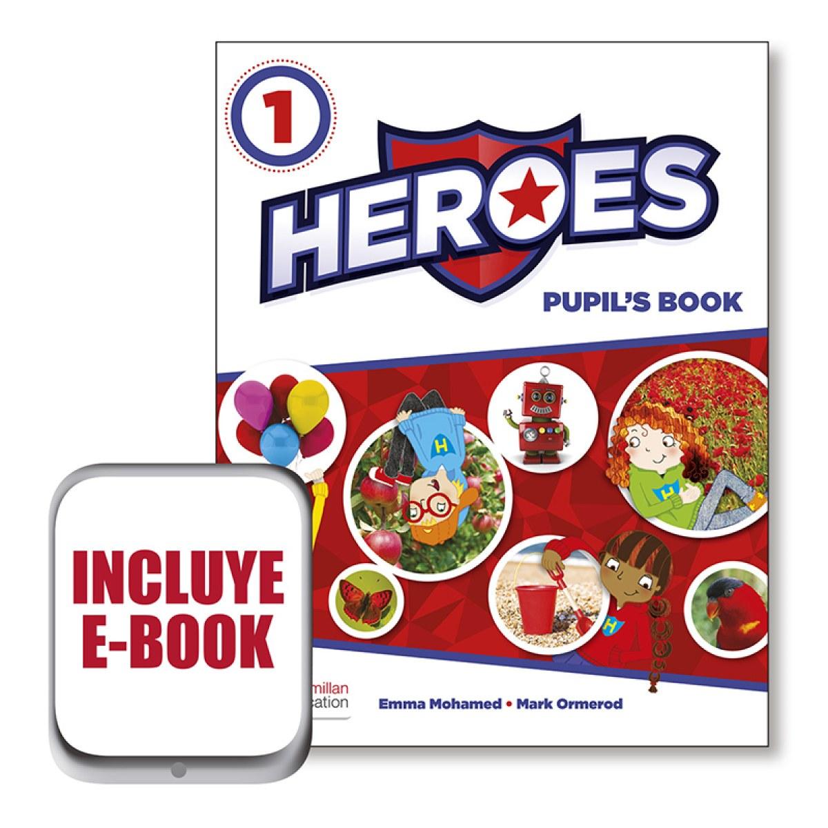 HEROES 1 Pb (SRP&PPK&ebook) Pk 9780230492981