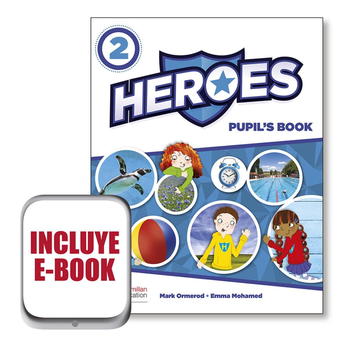 HEROES 2 Pb (SRP&PPK&ebook) Pk 9780230493131