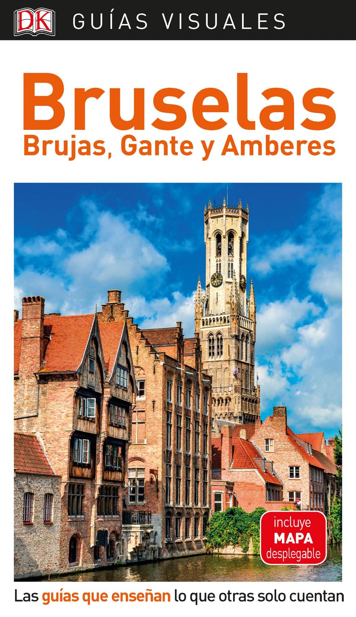 BRUSELAS, BRUJAS, GANTE Y AMBERES 2019 9780241384473