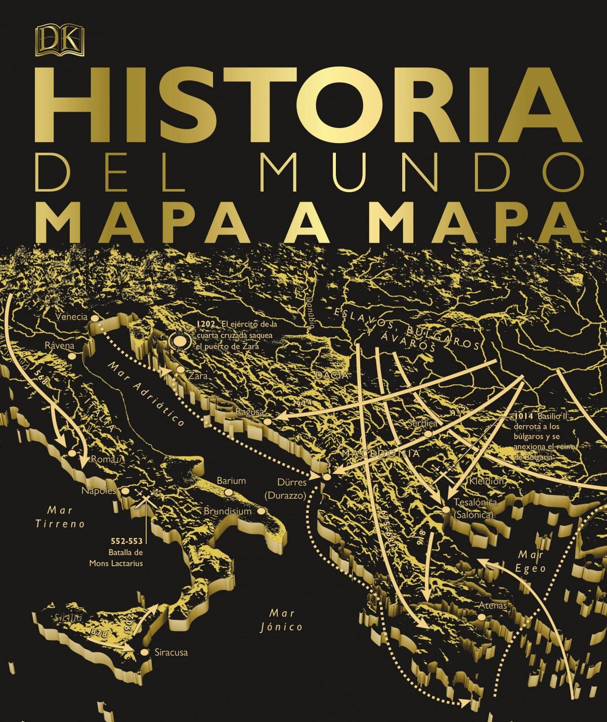 HISTORIA DEL MUNDO MAPA A MAPA 9780241414392
