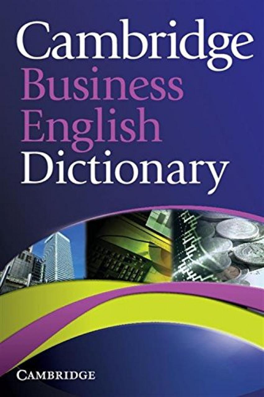 Cambridge busines English Dictionary 9780521122504