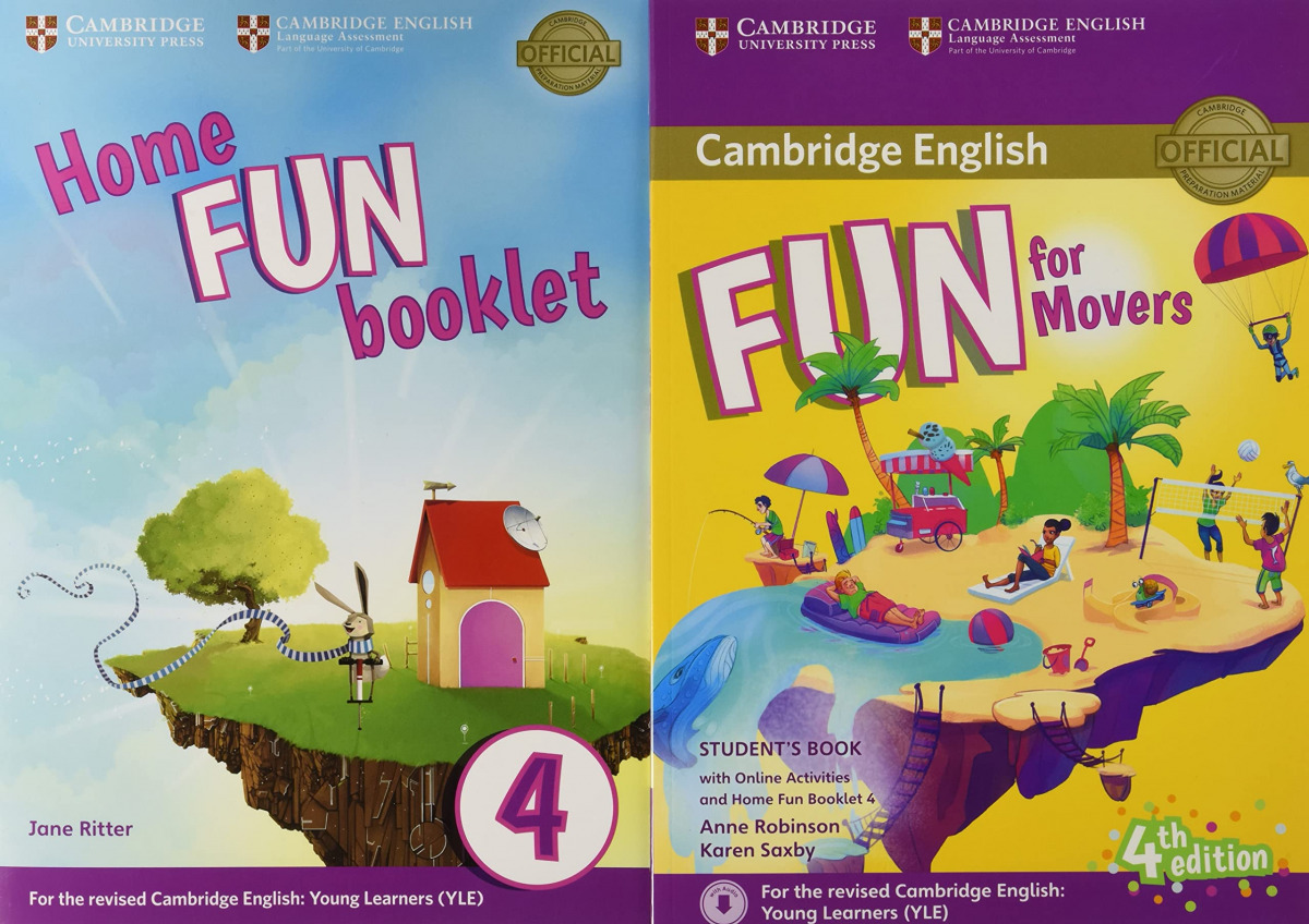 FUN FOR MOVERS STUDENT + HOME FUN BOOKLET +ONLINE ACTIVITIES 9781316617533