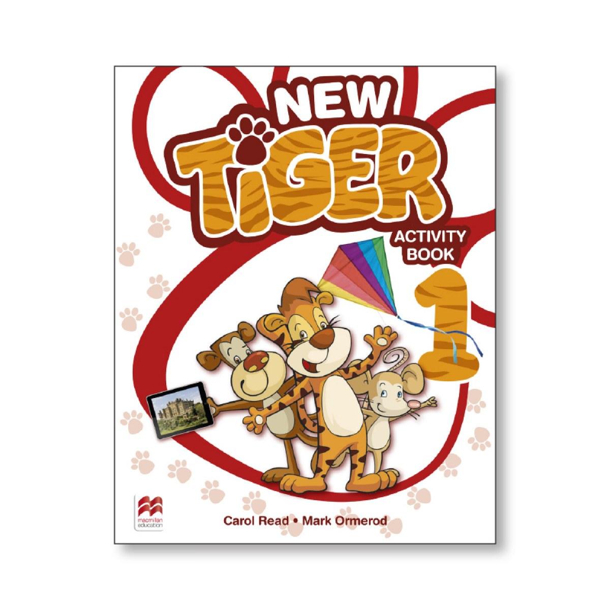NEW TIGER 1 ACTIVITY BOOK 9781380008886
