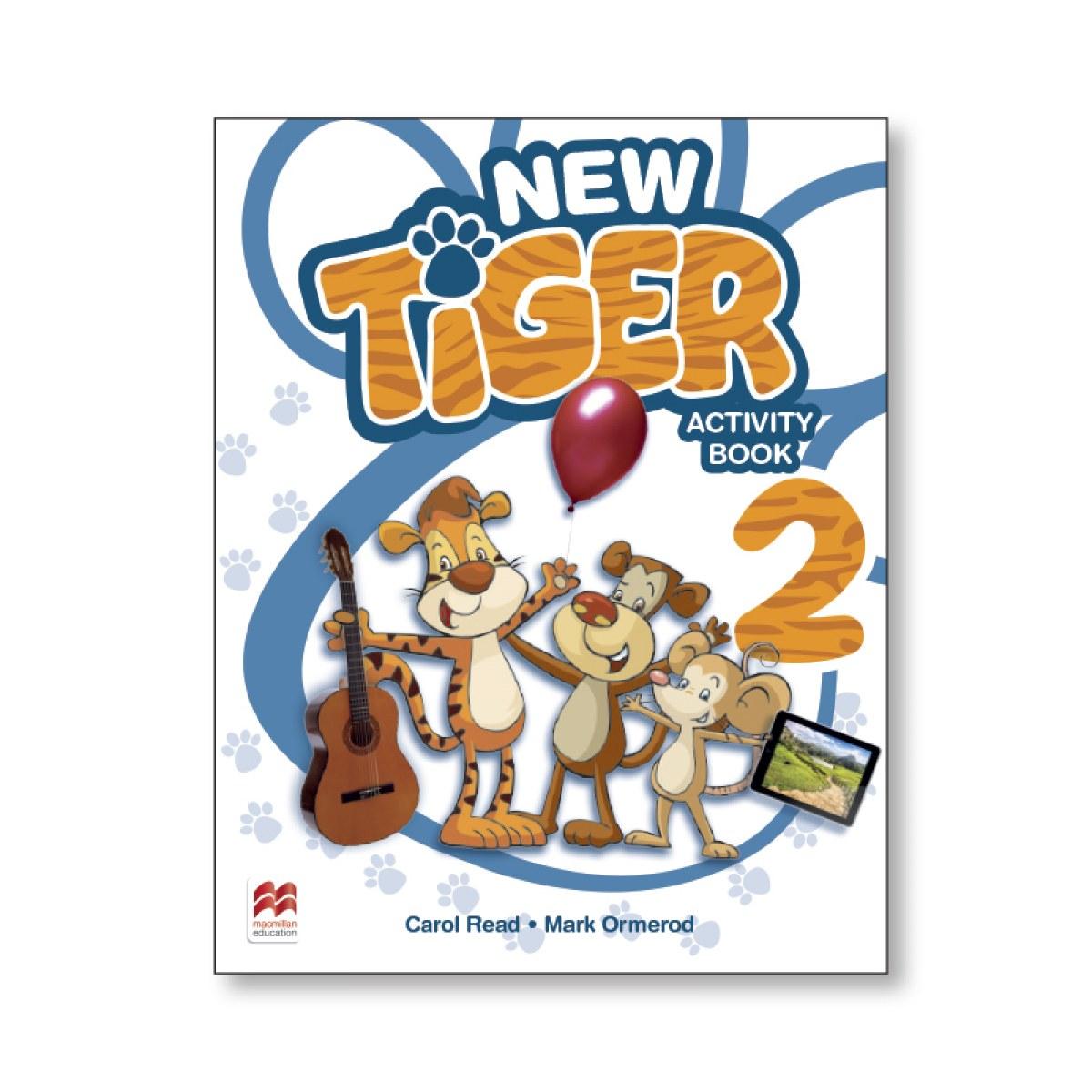NEW TIGER 2 ACTIVITY BOOK 9781380009036