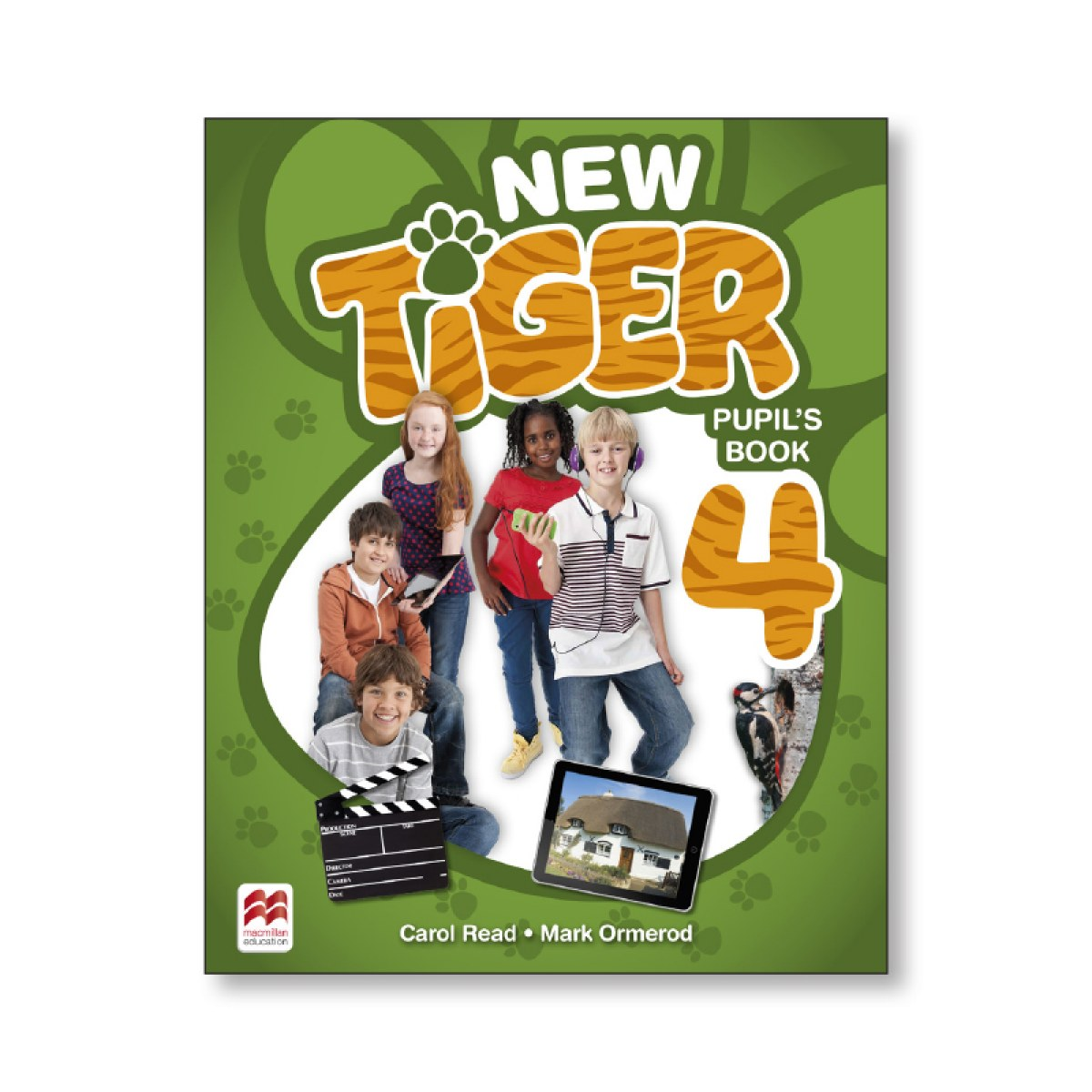 NEW TIGER 4 Pb 9781380011145