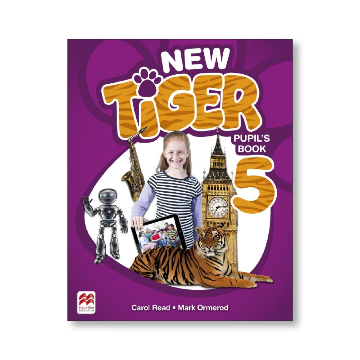 NEW TIGER 5 PUPIL S BOOK 9781380011152