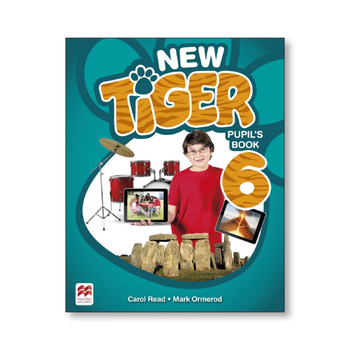 NEW TIGER 6 PUPIL S BOOK 9781380011169
