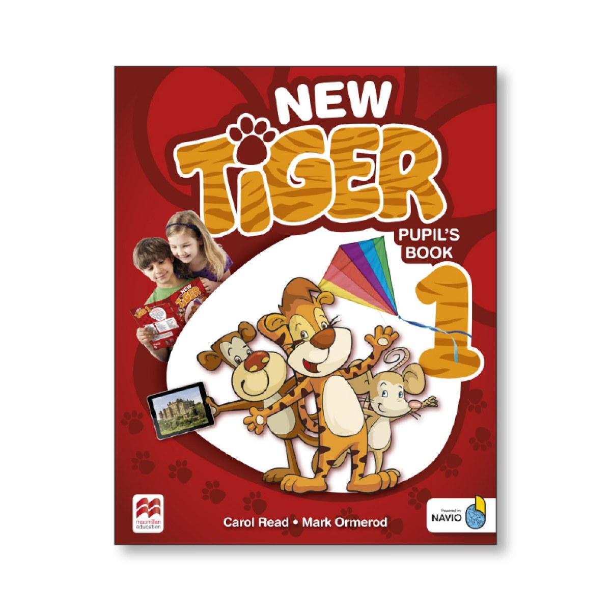 NEW TIGER 1 PUPILS BOOK PACK 9781380011176