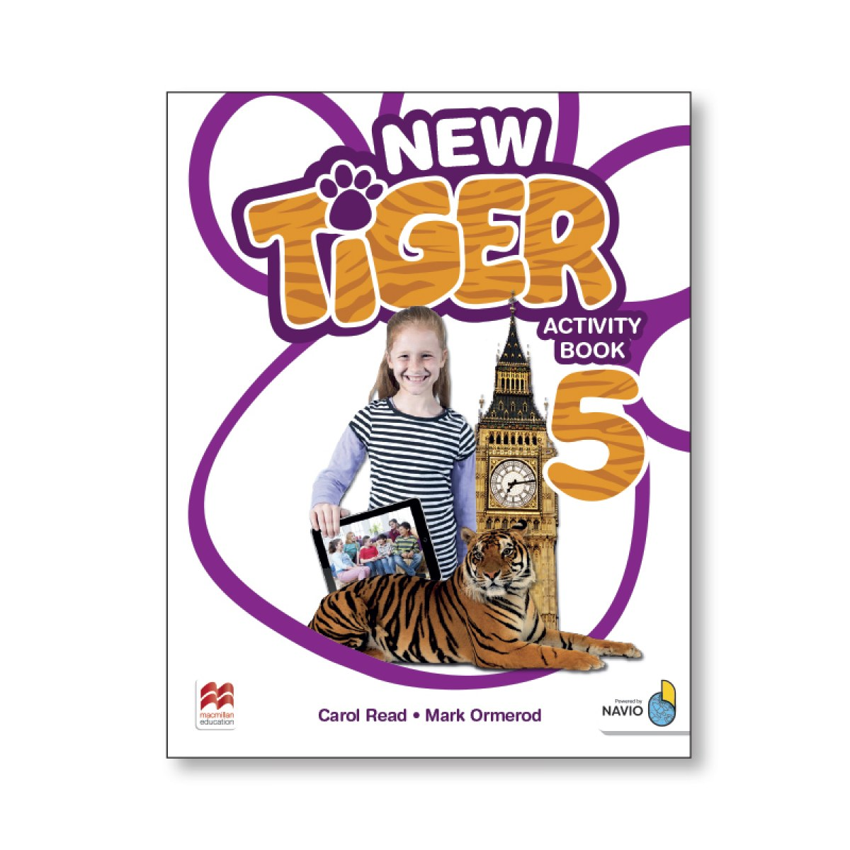 NEW TIGER 5 ACTIVITY BOOK PACK 9781380011275
