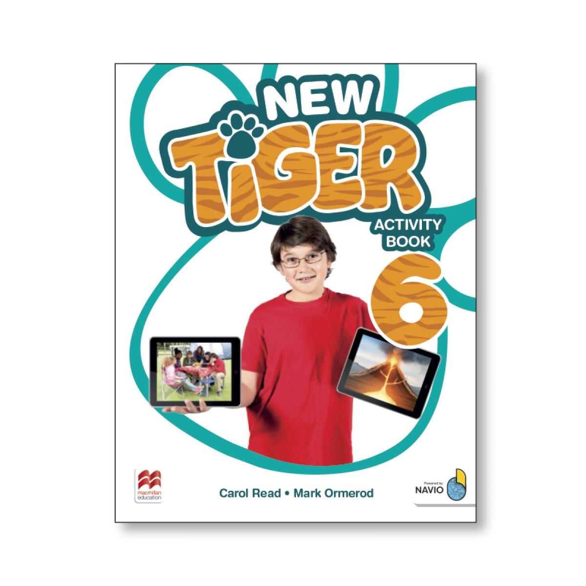 NEW TIGER ACTIVITY BOOK 6
