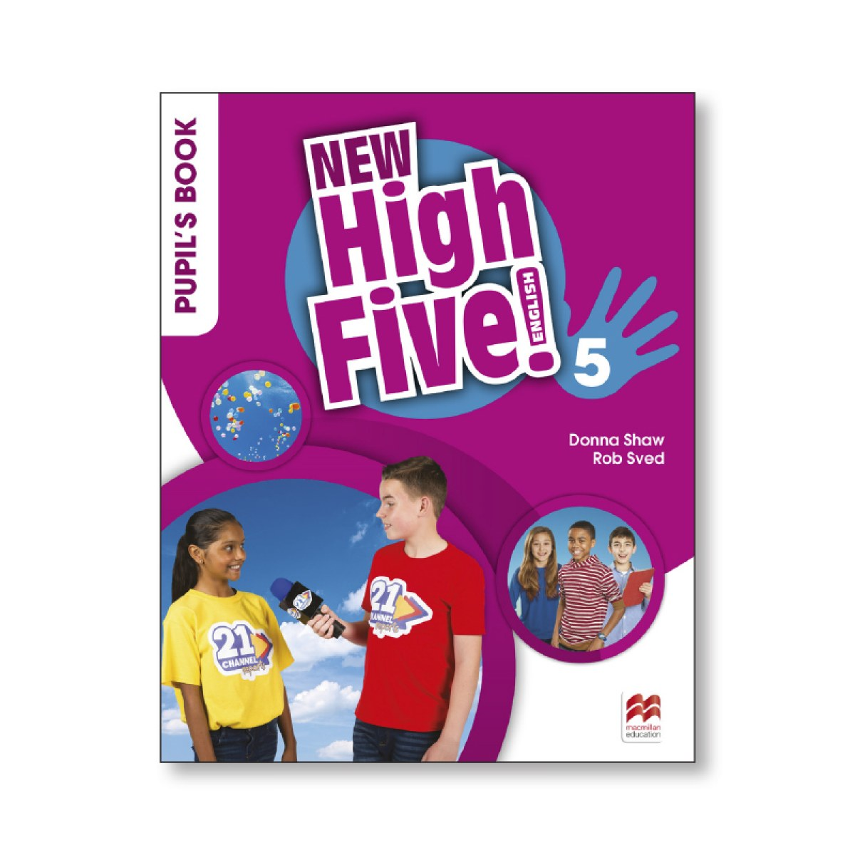 NEW HIGH FIVE! 5o.PRIMARIA. PUPIL S BOOK 9781380011725
