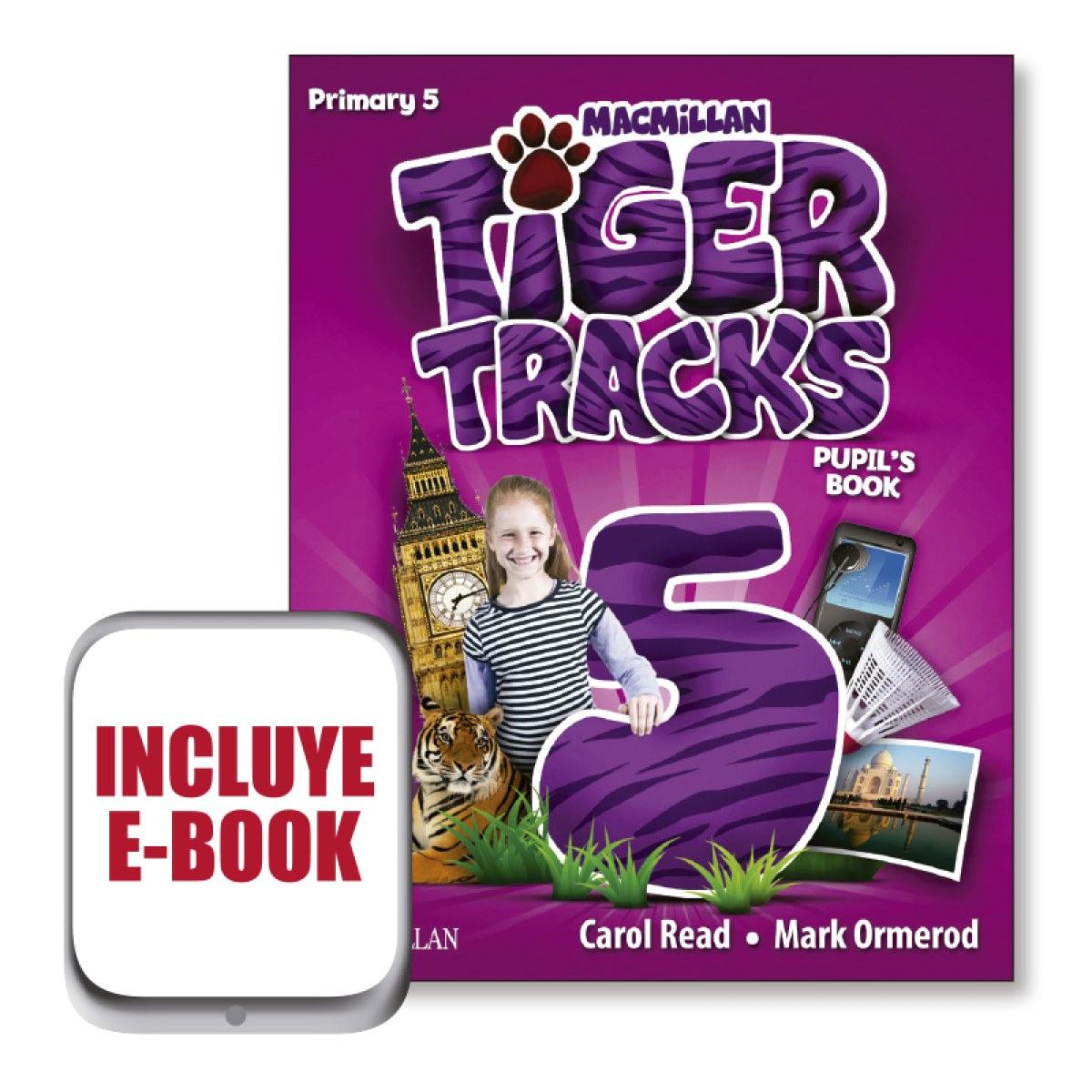 Tiger tracks 5o.primaria. Pupil s +ebook pack 9781380014641