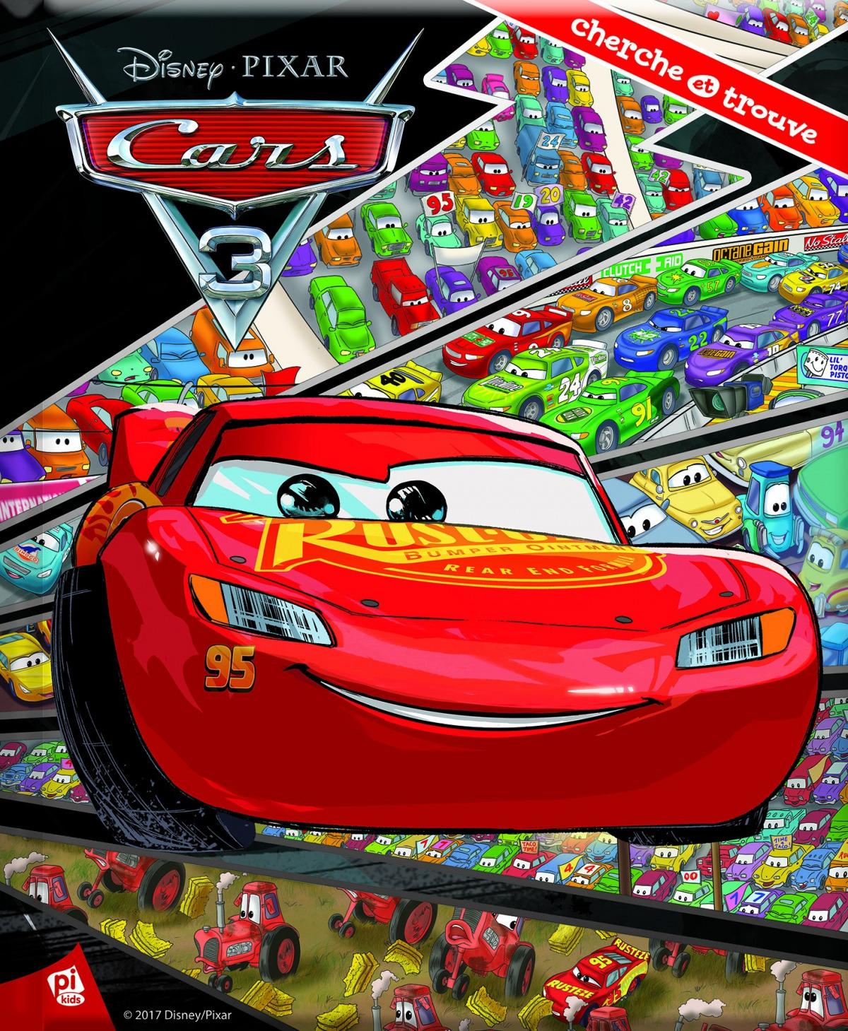 CARS 3. BUSCA Y ENCUENTRA 9781503720299