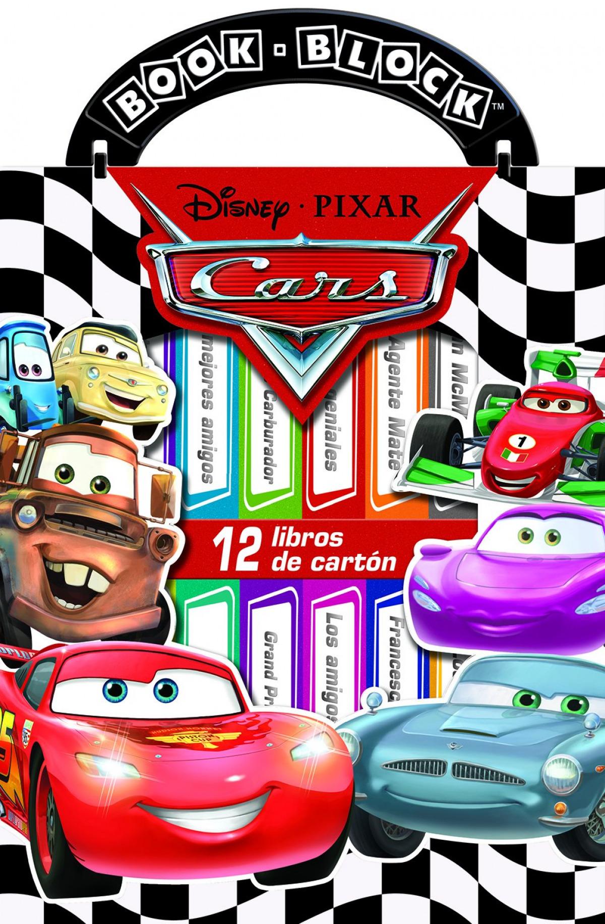CARS. MI PRIMERA LIBRERÍA 9781503723108