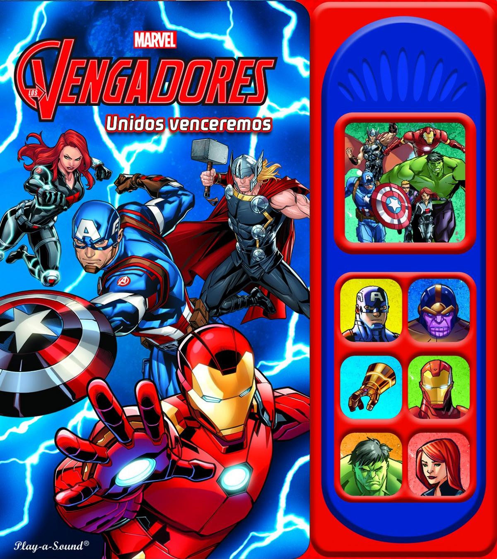 LOS VENGADORES 7 BOTONES DE SONIDO 9781503736665