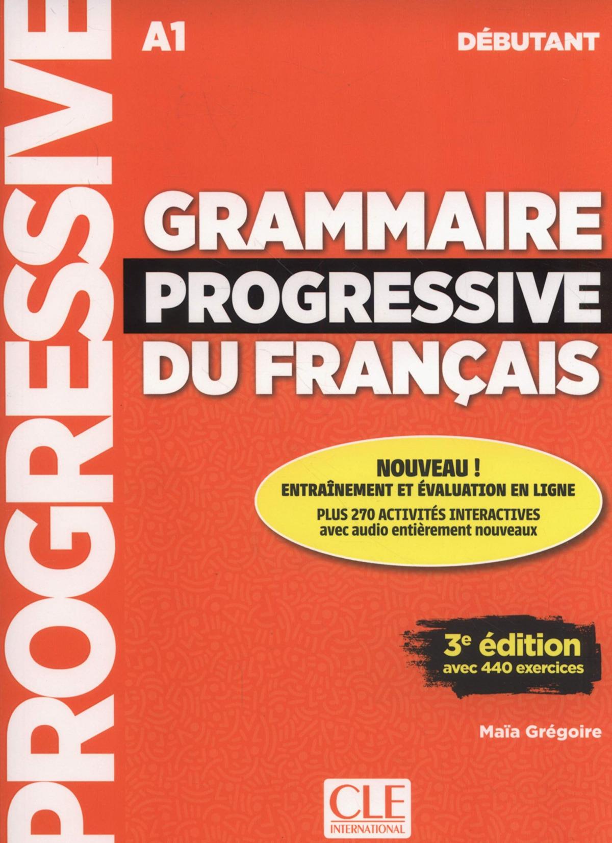 Grammaire progresivve du français 9782090380996