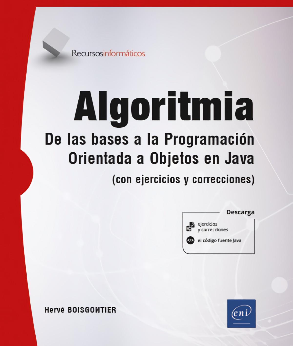 Algoritmia. De las bases a la programación orientada a objetos en 9782409028823