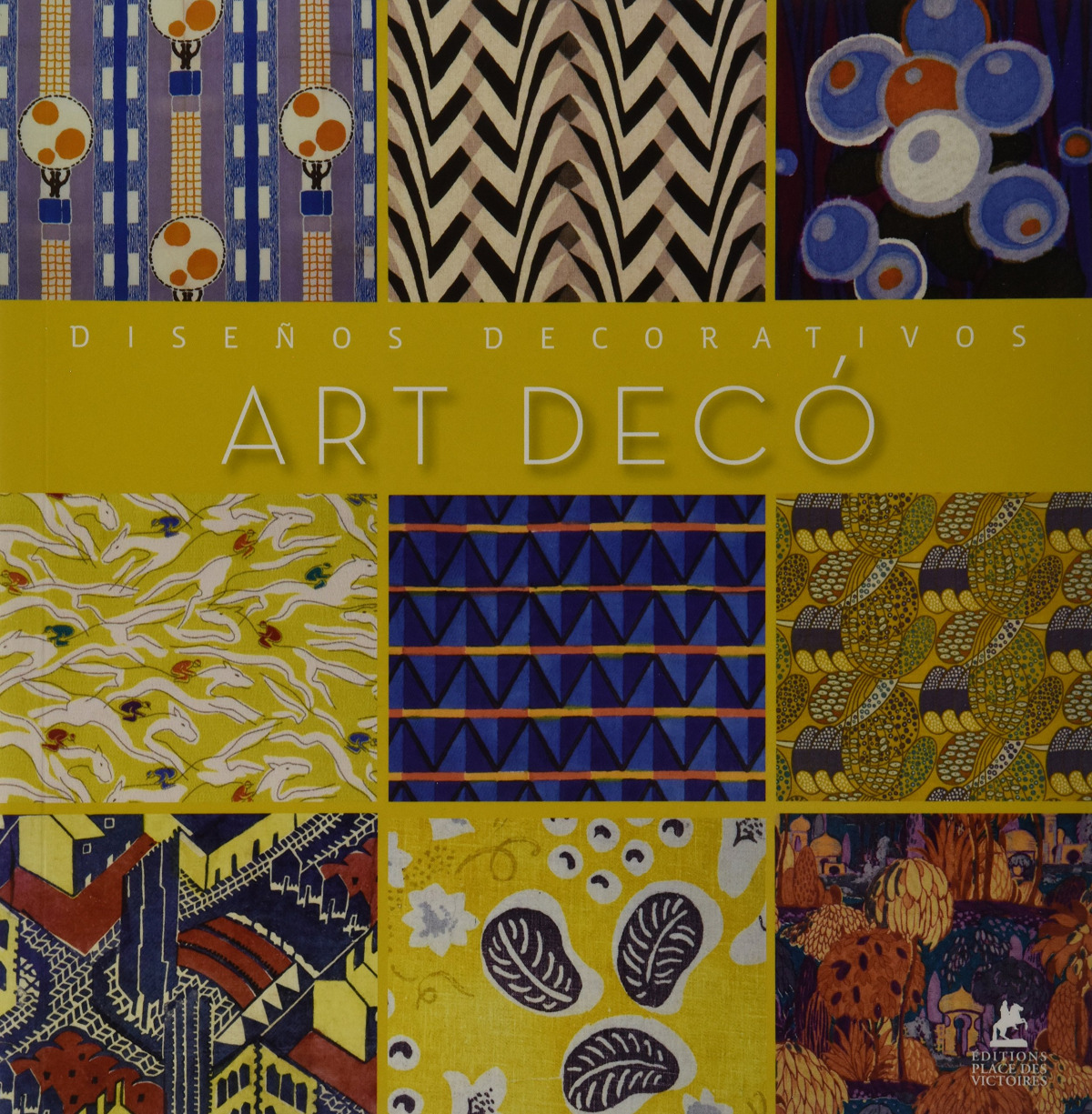 ART DECO: DISEñOS DECORATIVOS 9782809903027