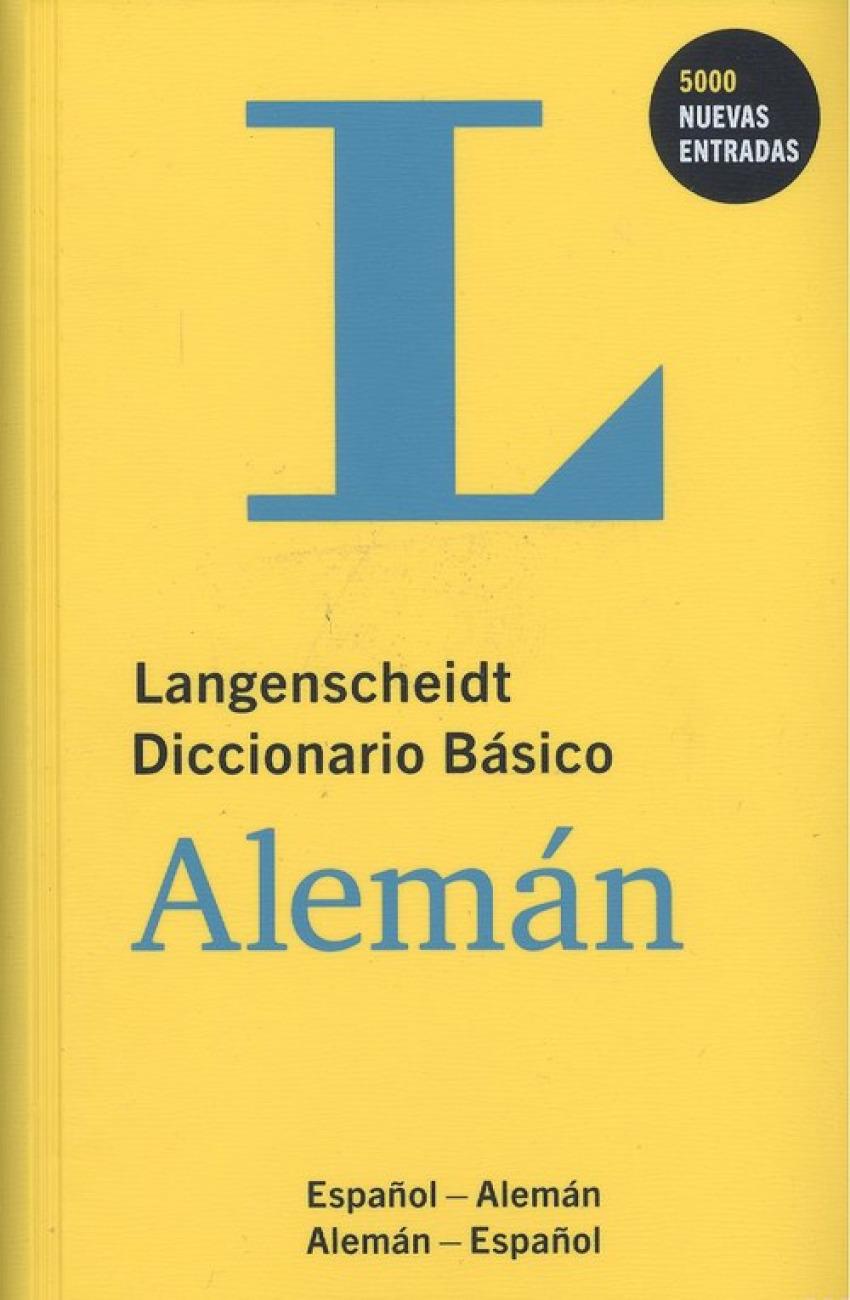 DICCIONARIO BASICO ALEMAN/ESPAñOL 9783125140042