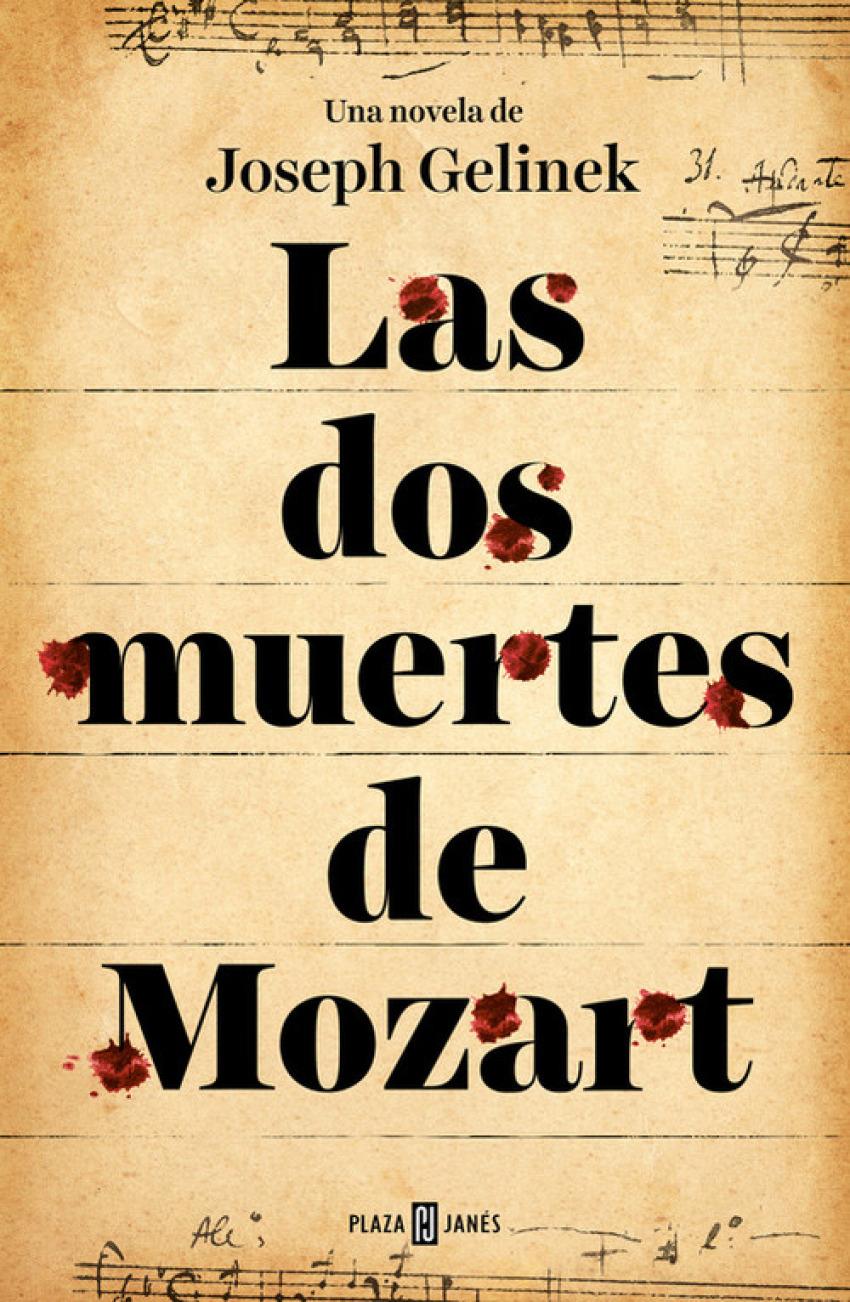 LAS DOS MUERTES DE MOZART 9788401353413