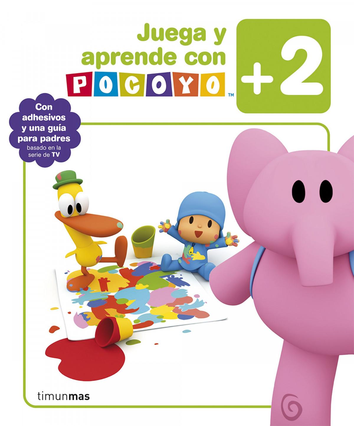 Juega y aprende con Pocoyó (+2) 9788408092889