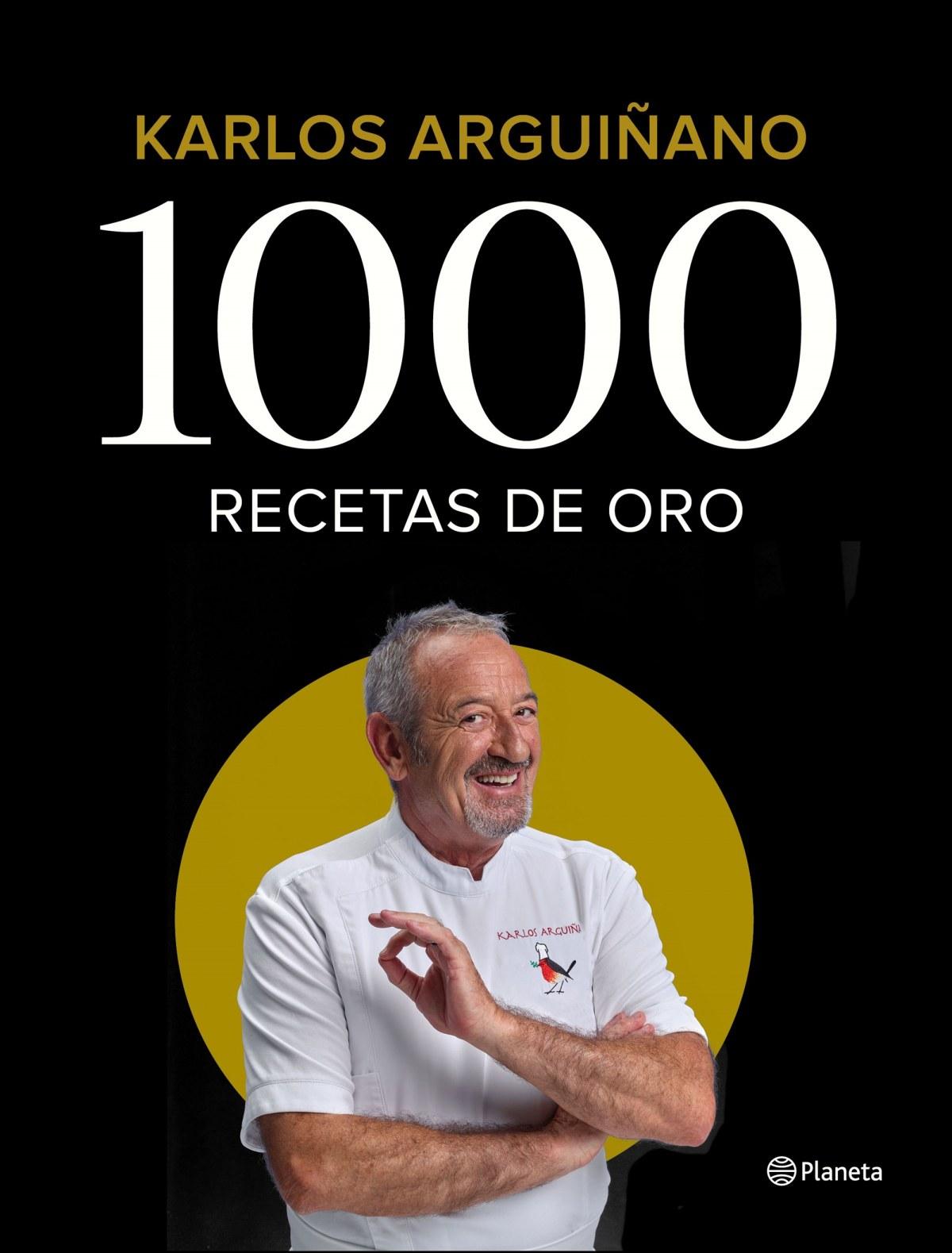 1000 RECETAS DE ORO 9788408196242