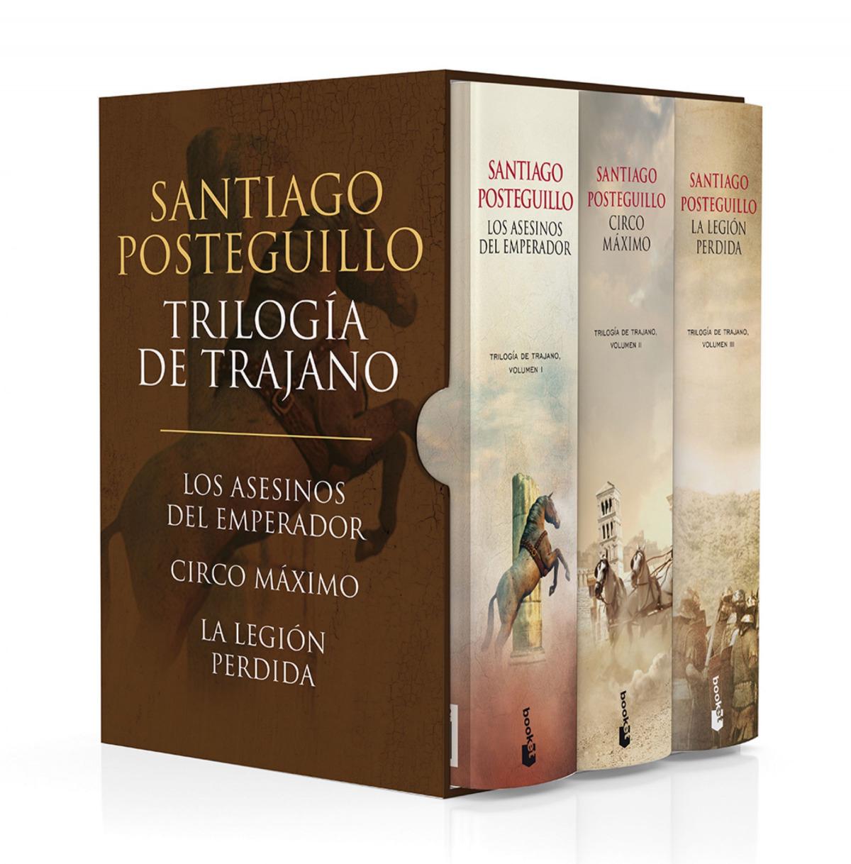 ESTUCHE TRILOGIA DE TRAJANO 9788408197423