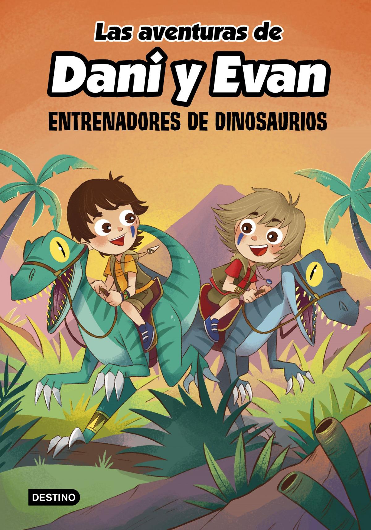 Las aventuras de Dani y Evan 3. Entrenadores de dinosaurios 9788408240372