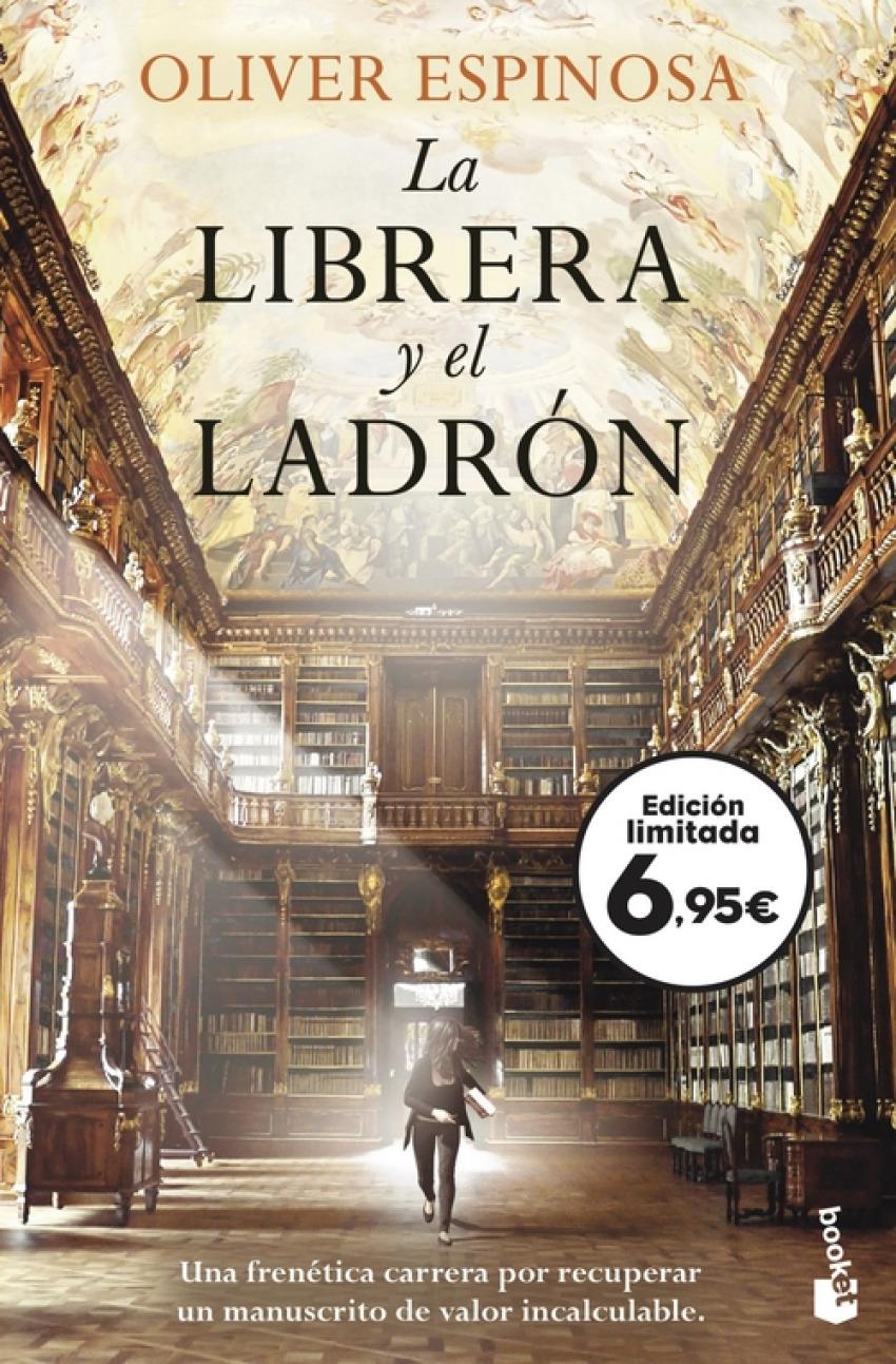 La librera y el ladrón 9788408243588